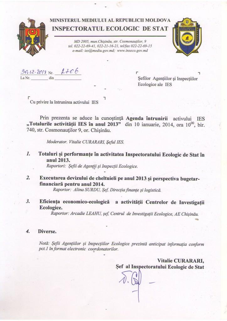 Agenda intrunirii (2)