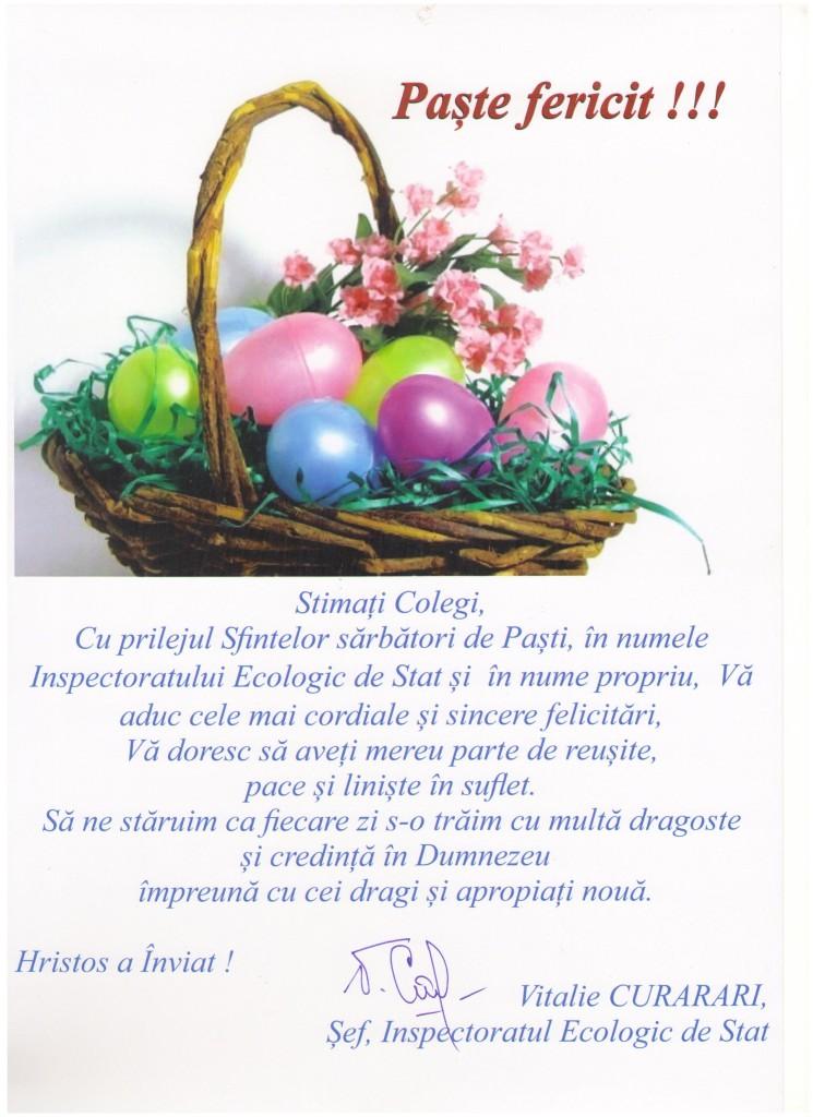 Felicitare de sf. Pasti (1)